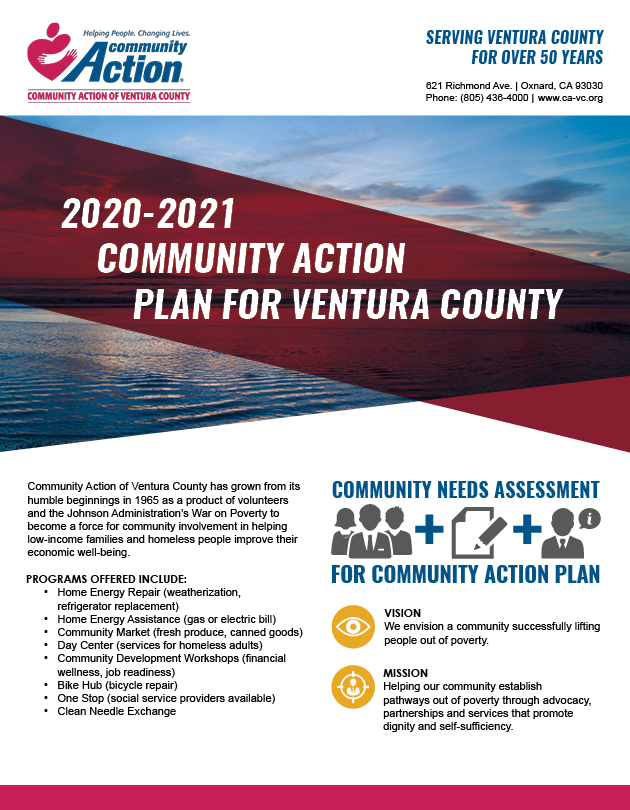 Community Action of Ventura County Flyer: Community Action